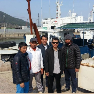 A Visit to Near Coastal Vessels